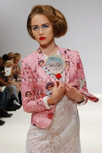 Fam Irvoll, LFW, photo18...  More from London Fashion Week on our fashion blog: http://www.retoxmagazine.com./