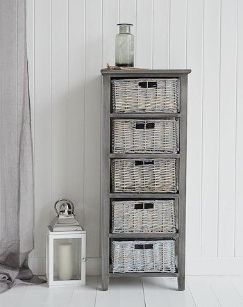 Wonderful Gray Bathroom Vanity With Shelf Design Ideas
