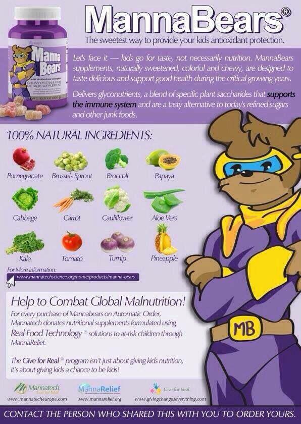 Con unas deliciosas gomitas consume frutas y verduras orgánicas y naturales sin conservadores ni satirizantes ni colorantes artificiales además contienen los 8 Gliconutrientes
