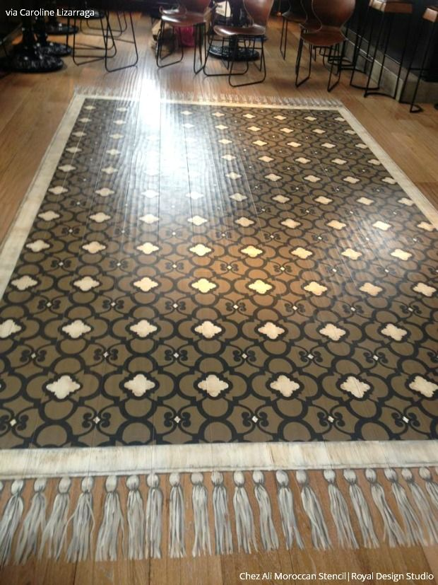 314 Best Images About Stenciled Amp Painted Floors On