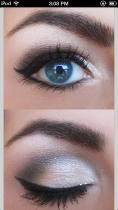 makeup for blue eyes - Google Search