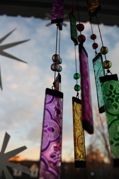 Beautiful wind chime