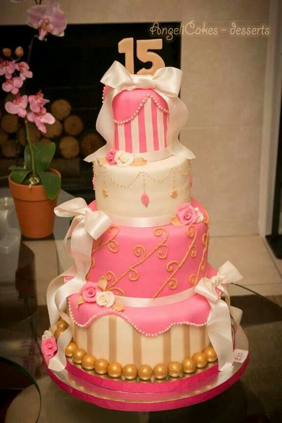 Xv Cake Cakes Lll Cake Pretty Birthday Cakes Y