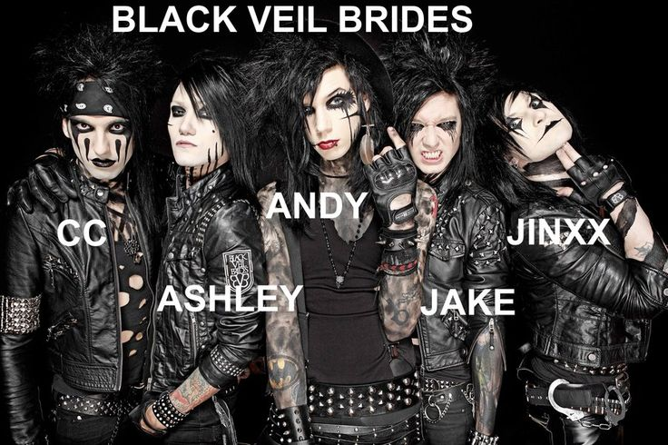 Black Veil Brides Wallpaper by GaaraxHinata6666.deviantart.com on @deviantART