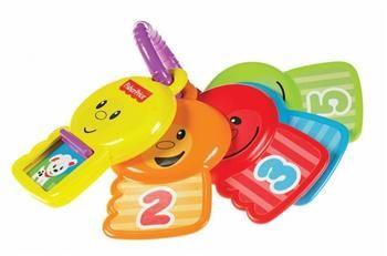 Fisher Price Renkli Anahtarlar ile bebeğiniz renkleri ve sayıları tanıyacak. http://www.onlineoyuncak.com/?urun-10338-fisher-price-renkli-anahtarlar
