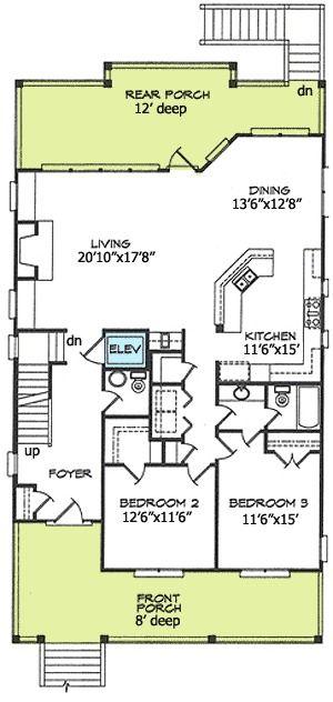 44 best elevated floor plans beach images on pinterest for Beach house design pdf