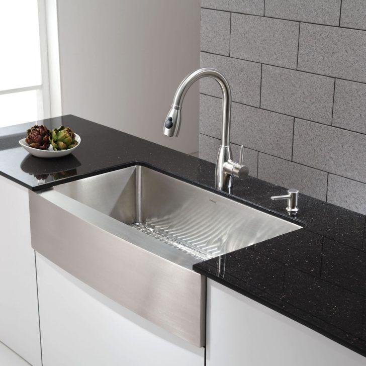 Wonderful Kitchen Lowes Farmhouse Kitchen Sink Renovation: 25+ Best Ideas About Stainless Steel Apron Sink On