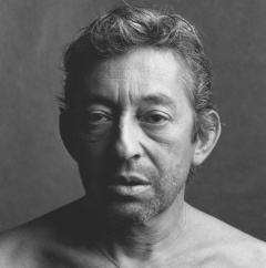 Gainsbourg, pris par Jean-François Bauret - interview avec le photographe ici : http://www.lesphotographes.com/2009/03/22/jean-francois-bauret-le-portraitiste/