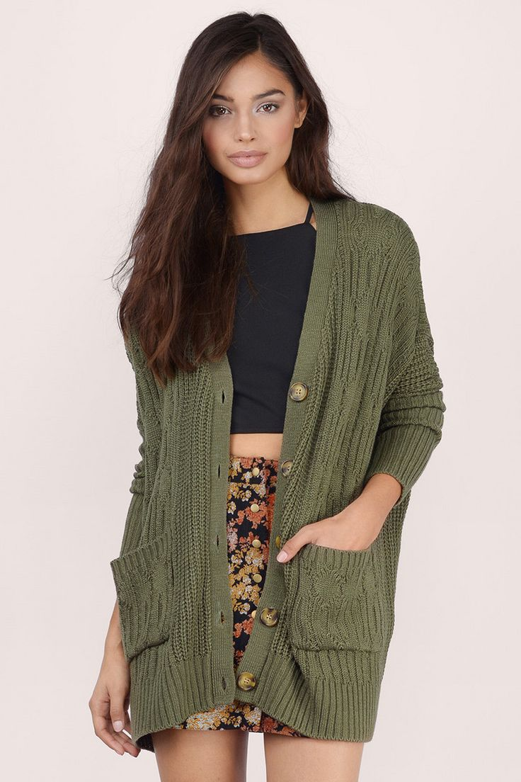 Cardigans And Necklaces: 1000+ Ideas About Green Cardigan Outfit On Pinterest