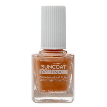 Suncoat Polish & Peel Water-Based Nail Polish - 0.27 fl oz