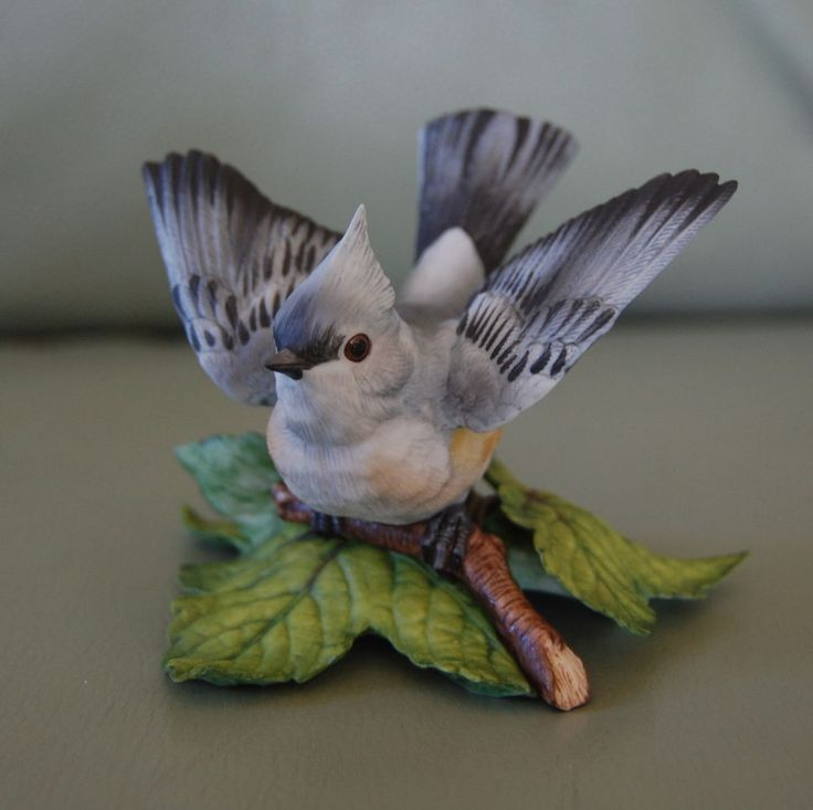 Lenox The Garden Bird Collection - Fine Porcelain Tufted Titmouse in Figurines | eBay
