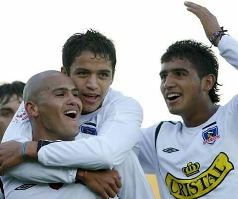 Alexis Sánchez, Arturo Vidal y Humberto Suazo