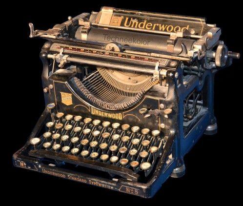 Machine à écrire UNDERWOOD n°5