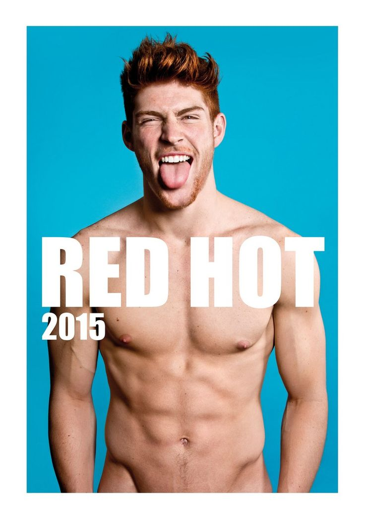 #redheads #redhot Capture the spirit of the RED HOT exhibitions and tour in a calendar for anyone who appreciates hot men with red hair. Whether its a gift to yourself or to someone else