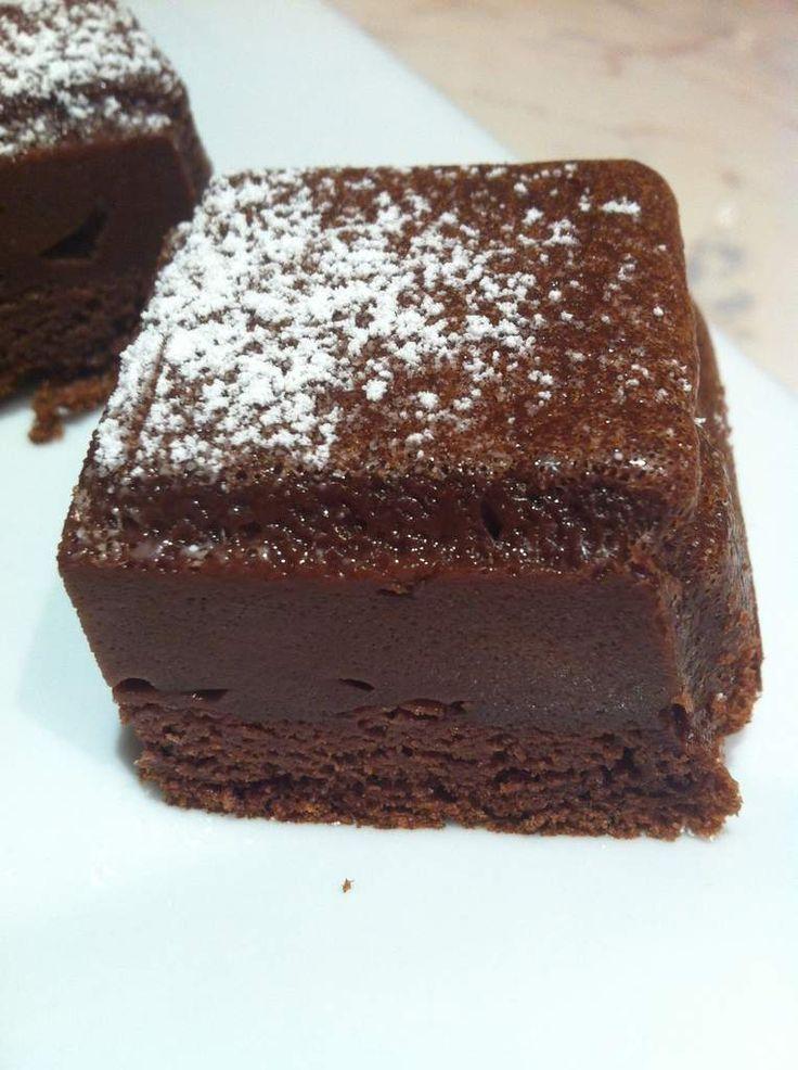 Recette gateau magique aux chocolat
