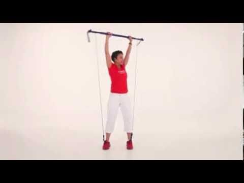 Gymstick Australia Trio Squat with Shoulder Press and Rotation