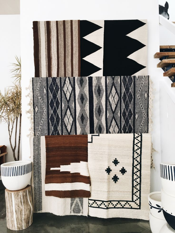 Pampa rugs with Pop&Scott stumpy and pot