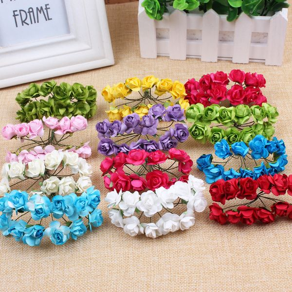 20 best taobao craft supplies images on pinterest craft supplies visit to buy mini cute paper rose handmade artificial flower for wedding decoration diy wreath gift scrapbooking craft fake flower junglespirit Images