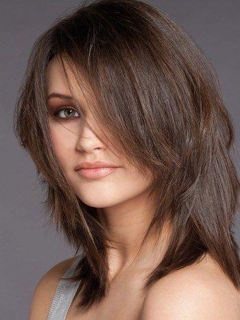 Русо коричневый цвет волос фото - Новинки стрижек