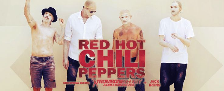 I entered the Red Hot Chili Peppers Live Nation Dallas Ticket Giveaway