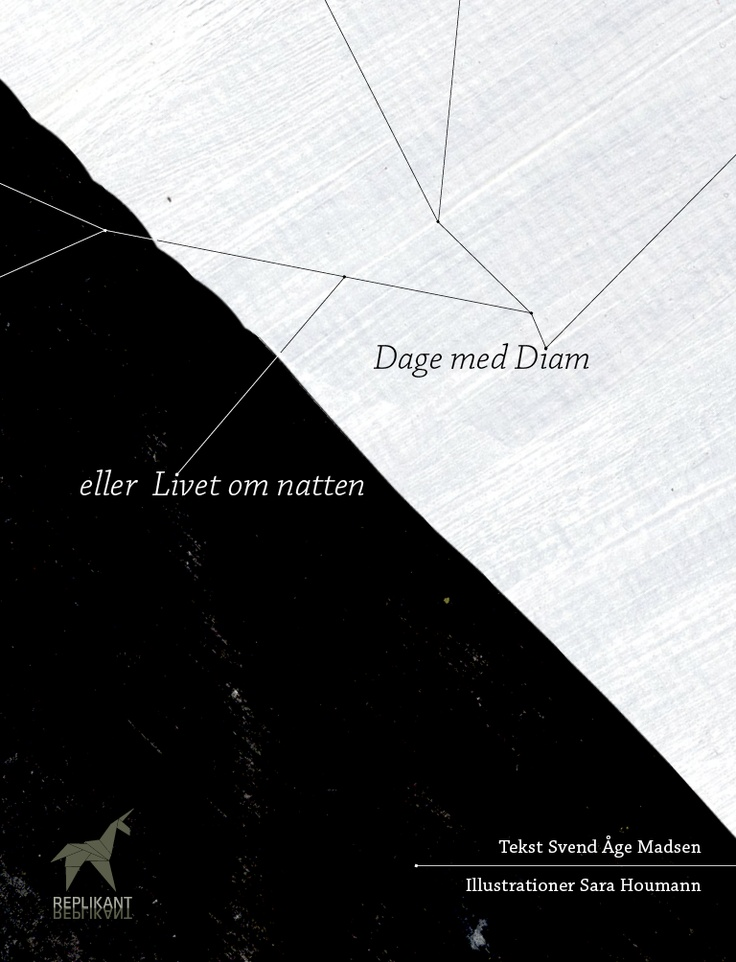 Dage med Diam eller Livet om natten. En illustreret hyperfiktion // Days with Diam, an illustrated hyperfiction by Svend Åge Madsen. –published in a visually pleasing, fully illustrated and interactive iBooks version (and a bare bones epub 2 version suitable for eink).