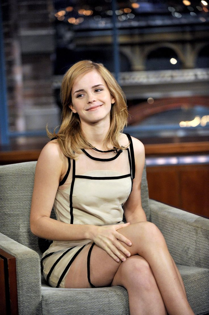 The best emma watson upskirt david letterman