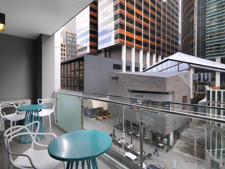 Balcony, 2 Bedroom Deluxe | Wyndham Hotel Melbourne