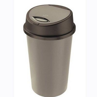 45 Liter Silver With Black Lid Plastic Touch Top Bin - See more at: https://bshomewares.co.uk/hot-deals/45-liter-silver-with-black-lid-plastic-touch-top-bin#sthash.y51e0rXD.dpuf