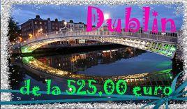 Dublin Revelion 2014-Voucher cadou 32 euro /persoana/ se poate folosi pentru optionale si mese