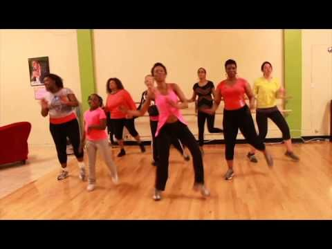 Zumba!   Happy - Pharrell Williams This lady is very entertaining!  Love it and want to learn it!
