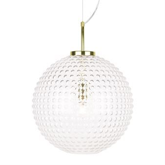 Spring XL taklampa - klar - Globen Lighting