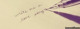 Write me a Love Song Fb Cover