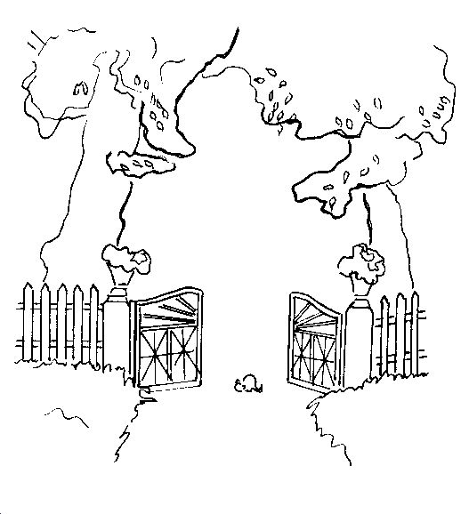 gate coloring page - 17 best images about i am the door gate on pinterest 10