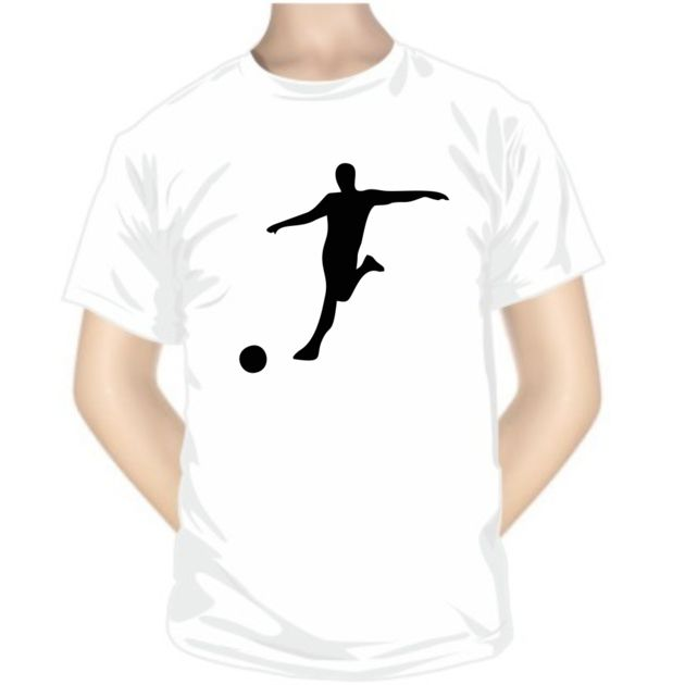 Tee shirt de sport: FOOTBALLEUR - Collection sportive - SiMedio