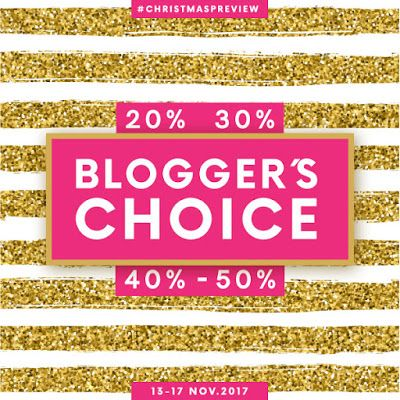 Amostras e Passatempos: Blogger's Choice by Skin #chritmaspreview