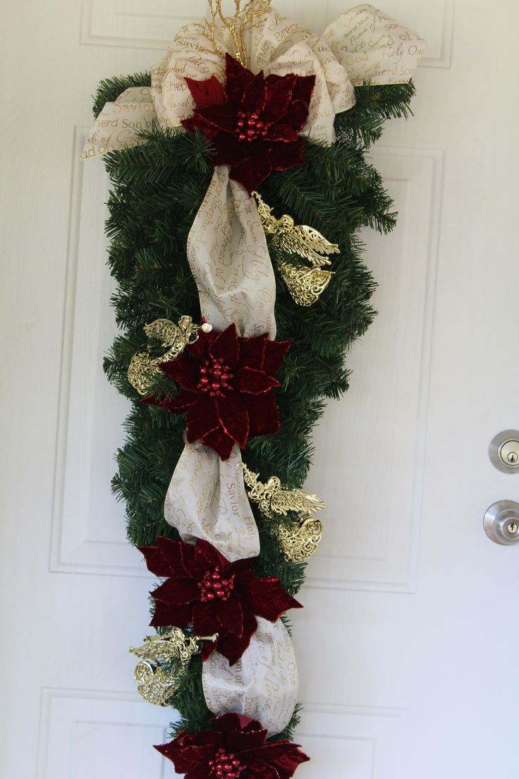 ... My wreaths i made on Pinterest | Mardi gras, Blue and and Red green
