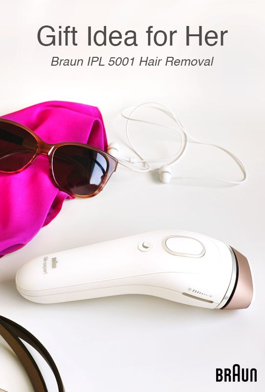 Give her the gift of soft skin with this Venus Silk-Expert IPL powered by Braun! With a sleek design she'll love, even if you're looking for a last-minute present, this unique hair removal tool is safe and easy to use. She'll get permanent hair removal without having to go to the salon for professional laser treatment! The best part? The fastest IPL technology will allow her to treat legs and arms in just 10 minutes! Click to find more practical gift ideas for your wife or girlfriend!