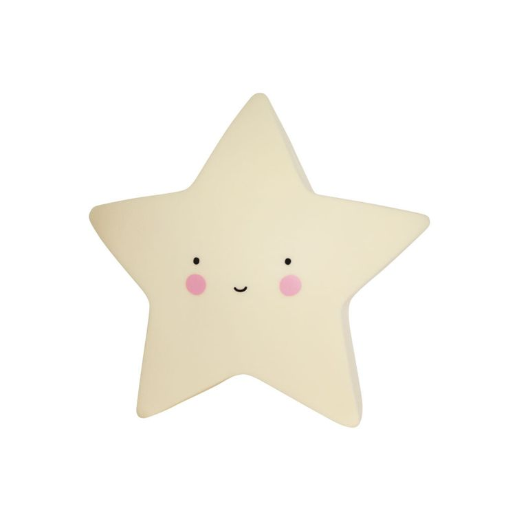 Lovely Little Company Mini Star Light: Super cute mini star light available in three colours. These eco-friendly lights are child safe and made from BPA - and lead-free PVC; and give a soft glow when turned on. You can choose to put the light on, off or on timer. When you switch the timer on, the light turns off automatically after 15 minutes. This saves battery power and is better for the environment!