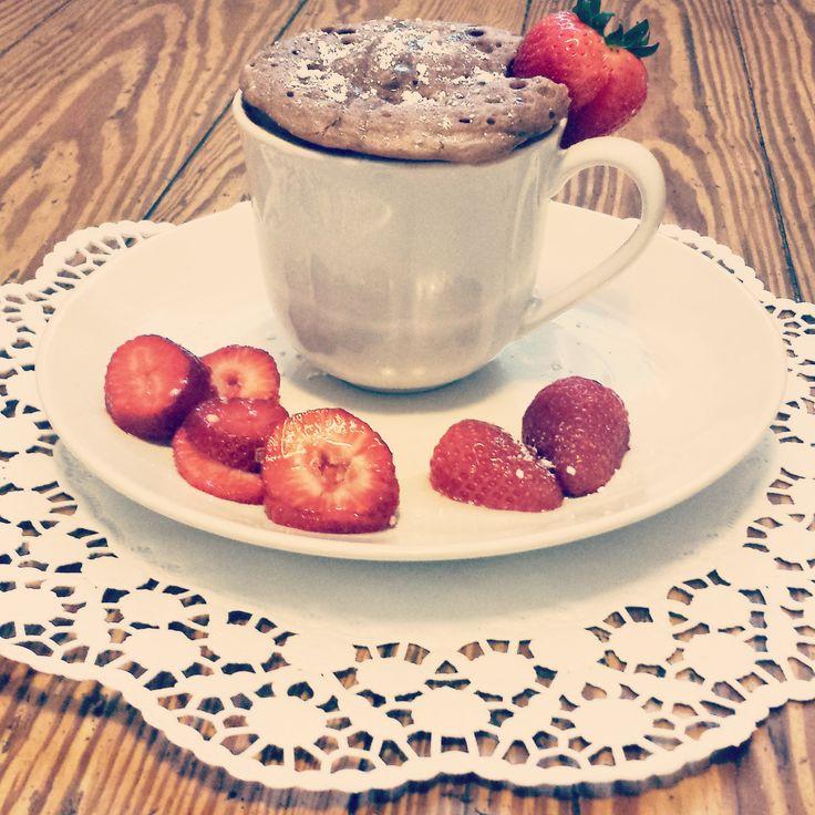 Schnelles Dessert – veganer Tassenkuchen | modegeschmack