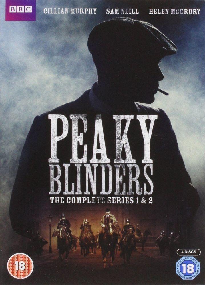 PEAKY BLINDERS COMPLETE SEASON / SERIES 1-2 NEW & SEALED REGION 2 DVD BOXSET