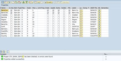 Gate Way Service Creation Using The CDS Views With Parameters