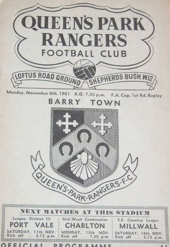 QPR (A), 1961 - for gustav