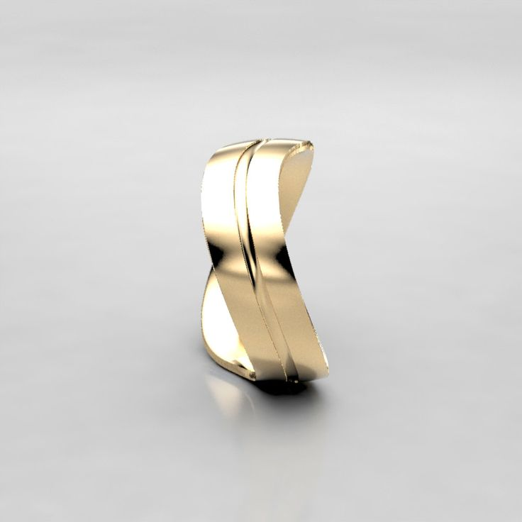 Very unique wave wedding band! The movement in this ring is really fun, a whimsical yet very wearable design for everyday wear. Perfect for a mens or womens wedding band, available in gold, palladium, or platinum. Ring Specs: ● 6mm width ● 1.5mm Thickness- good weight, sturdy construction ● Recycled gold (10k-14k, yellow, rose, white), Palladium, or Platinum This 6mm wide wedding band is made from recycled gold, palladium, or platinum and is handmade with a comfort fit to your size. The…