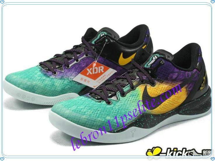 Cheap Kobe VIII,Lebron James Easter Fiberglass Court Purple Black Laser  Purple 555035-302