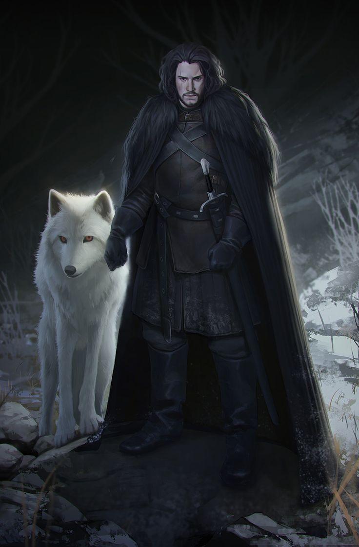 john snow wolf