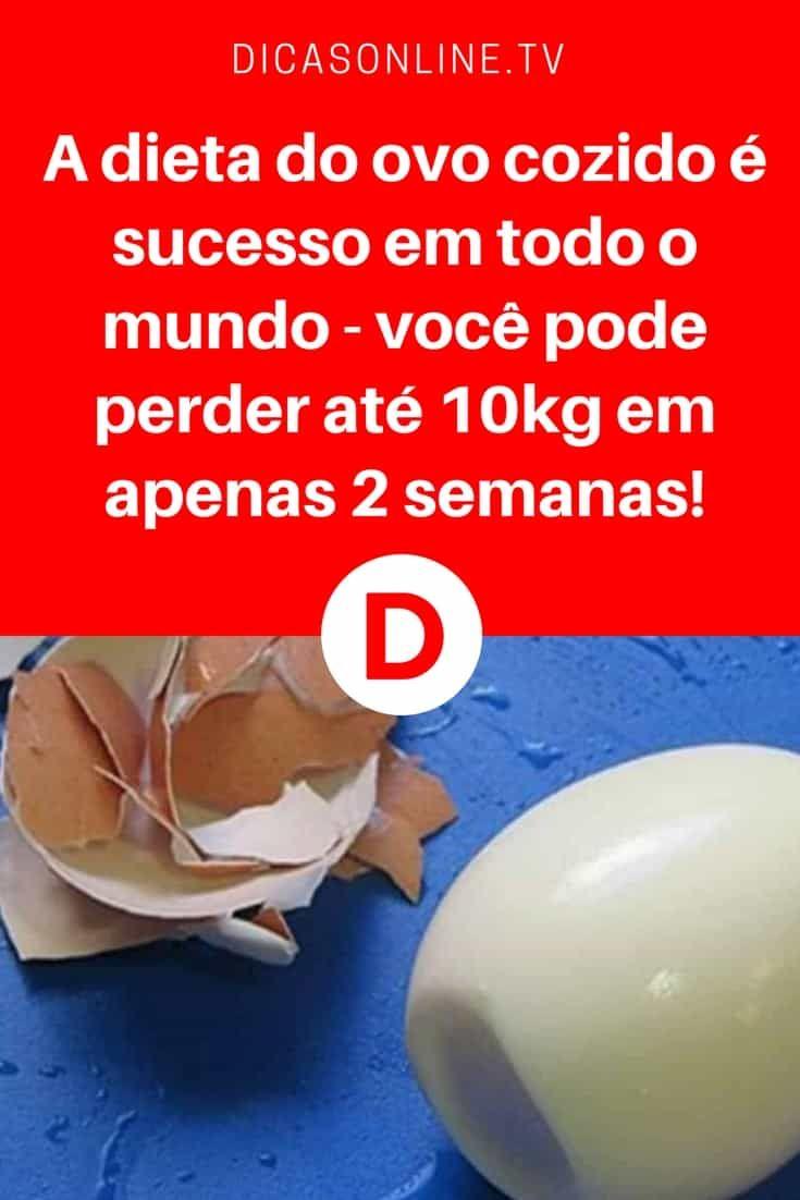 Perder 10 kg em 14 dias   A dieta do ovo cozido é sucesso em todo o mundo - você pode perder até 10kg em apenas 2 semanas!   Ela está fazendo muito sucesso e não é por acaso... Aprenda, faça e comprove ↓ ↓ ↓