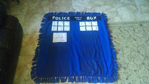 Tardis Blanket Knitting Pattern : TARDIS Blanket and Pillow Case - HOME SWEET HOME - Knitting, sewing, crochet,...