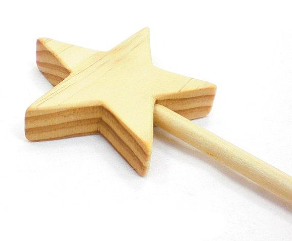Magic Fairy Wand - Wood Magic Wand