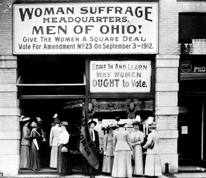 the suffragist movement in the usa essay