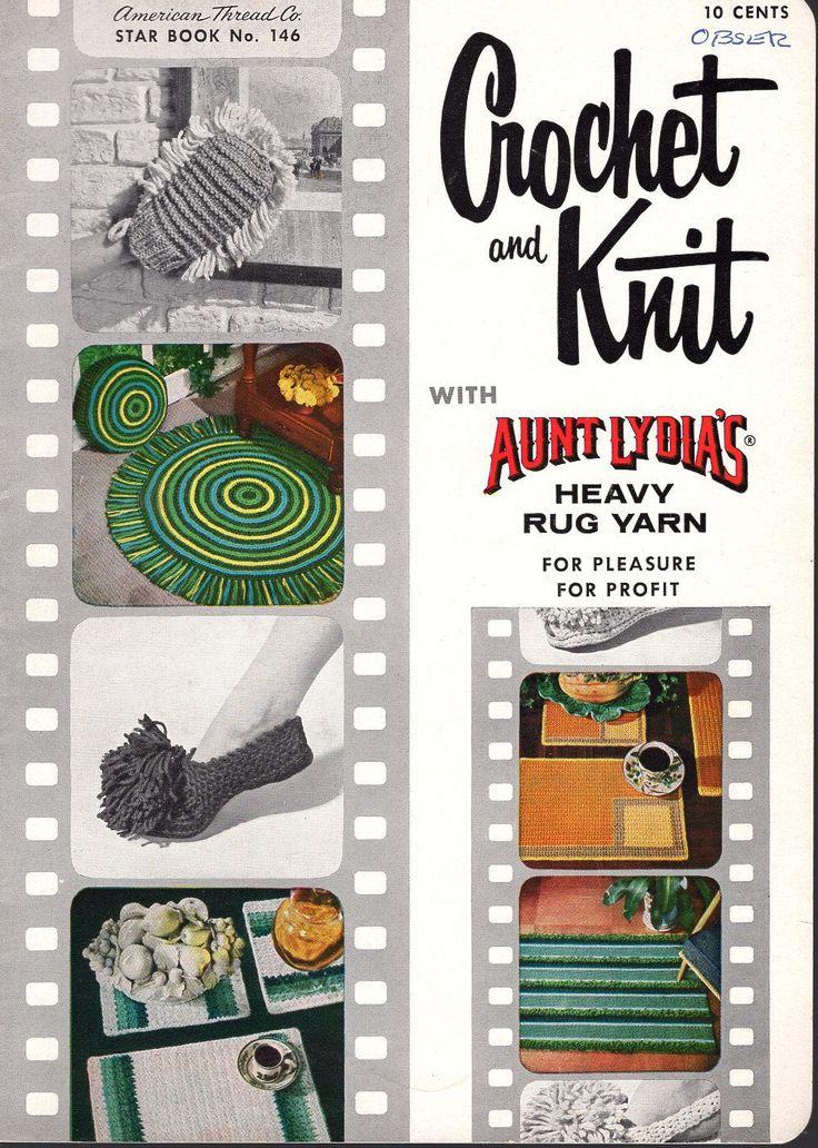 Mejores 191 imágenes de Vintage Retro Knitting and Crochet Patterns ...